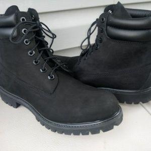 timberland Black Timberland Boots. Sz 9